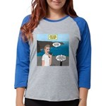 How to Find a Restaurant in Ir Womens Baseball Tee