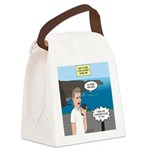How to Find a Restaurant in Irela Canvas Lunch Bag