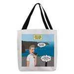 How to Find a Restaurant in Ire Polyester Tote Bag