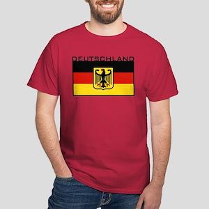 Deutschland Flag Dark T-Shirt
