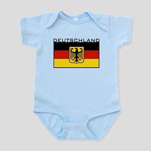 Deutschland Flag Infant Bodysuit