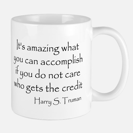 What you can accomplish Mug