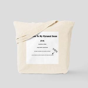 Pyramid Scam Tote Bag