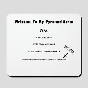 Pyramid Scam Mousepad