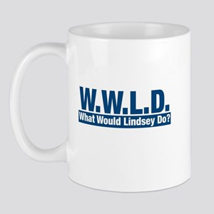 WWLD What Would Lindsey Do? Mug