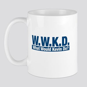 WWKD What Would Kevin Do? Mug