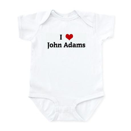 I Love John Adams Infant Bodysuit