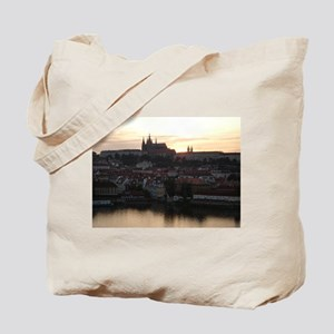 Prague Castle at Sunset Tote Bag