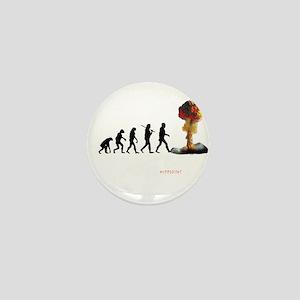 mans fate Mini Button