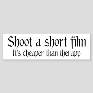 Short film therapy Bumper Sticker