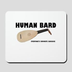 Human Bard Mousepad