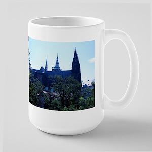 Prague Castle Large Mug