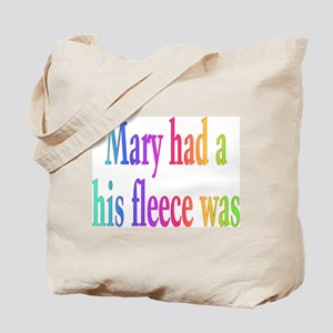 Mary had a little lamb Tote Bag
