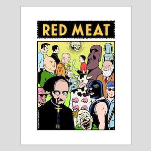Mondo MEAT Small Poster