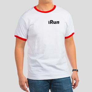 iRun, terrain (front & back) Ringer T