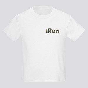 iRun, sprinkle (front & back) Kids Light T-Shirt