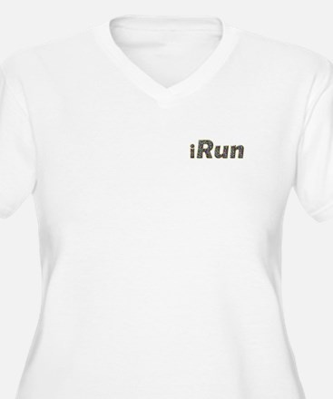 iRun, sprinkle (front & back) T-Shirt