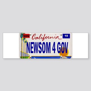 Gavin Newsom for Governor of Bumper Sticker
