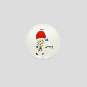 I Skydive Mini Button