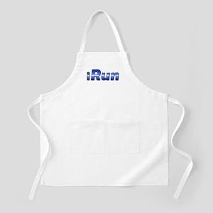 iRun, racing stripe BBQ Apron