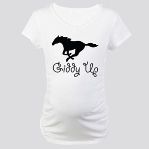 Giddy Up Maternity T-Shirt