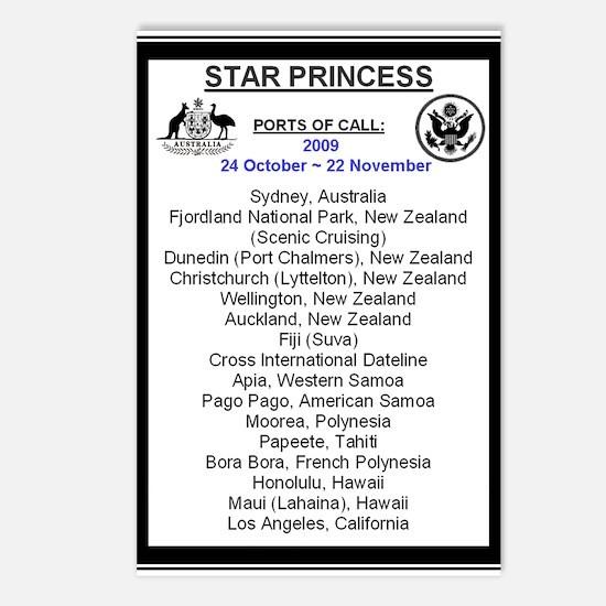 Star SYD-LA 2009 Postcards (Package of 8)