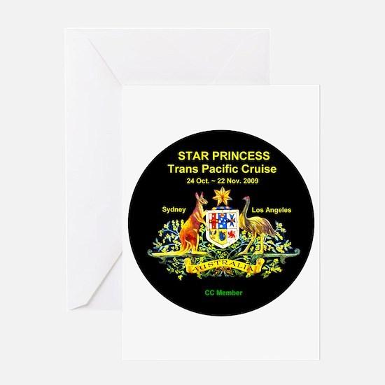 Star SYD-LA 2009 Greeting Card