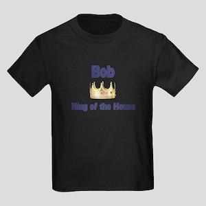 Bob - King of the House Kids Dark T-Shirt