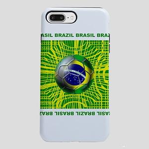 Brazil Soccer iPhone 8/7 Plus Tough Case