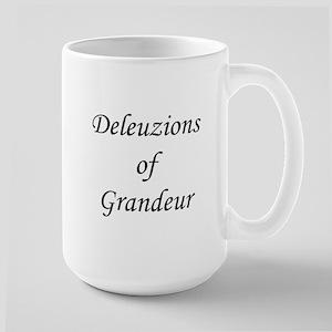 Gilles Deleuze Large Mug