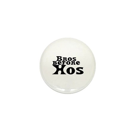 Bros Before Hos Mini Button (10 pack)