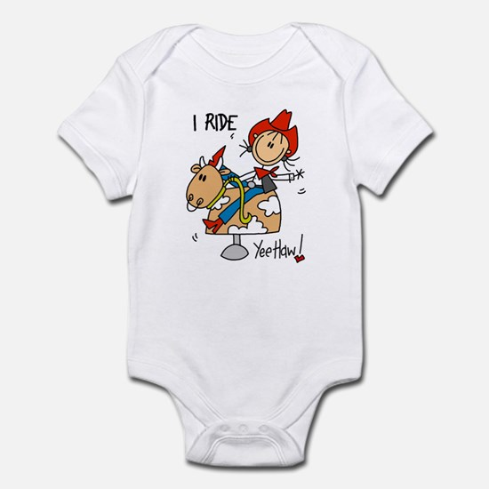 I Ride Infant Bodysuit
