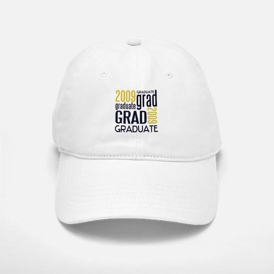 Graduate 2009 ~navy/gold~ Baseball Baseball Cap