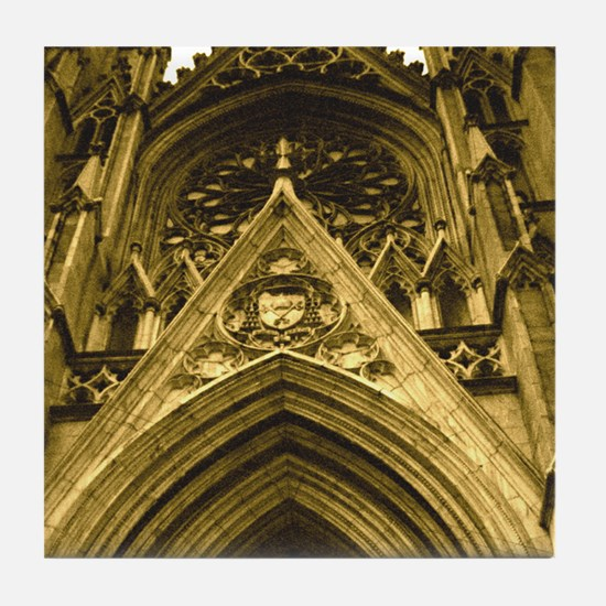 St. Patrick's Cathedral Tile Coaster