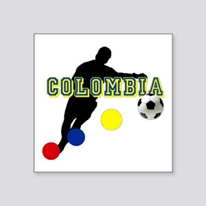 Columbia Soccer Player Sticker