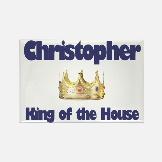Christopher - King of the Hou Rectangle Magnet