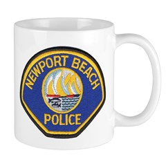 Newport Beach Police Mug