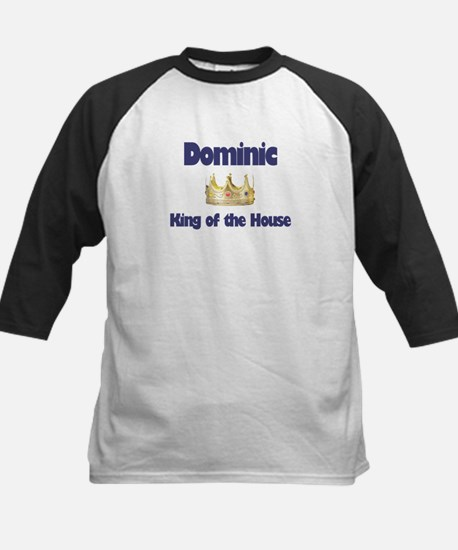 Dominic - King of the House Kids Baseball Jersey