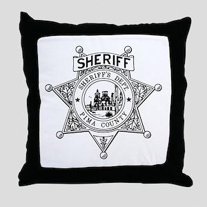 Pima County Sheriff Throw Pillow