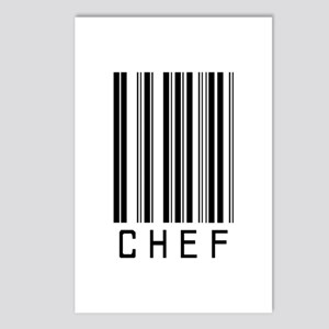 Chef Barcode Postcards (Package of 8)
