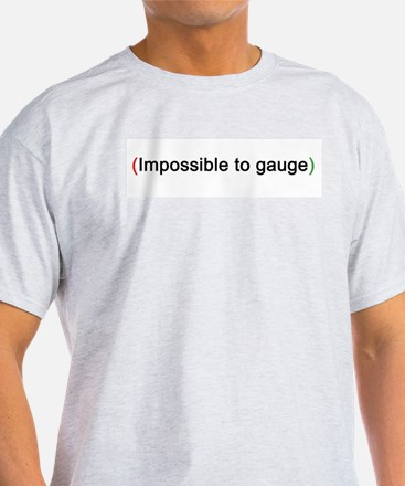 """Impossible"" Ash Grey T-Shirt"