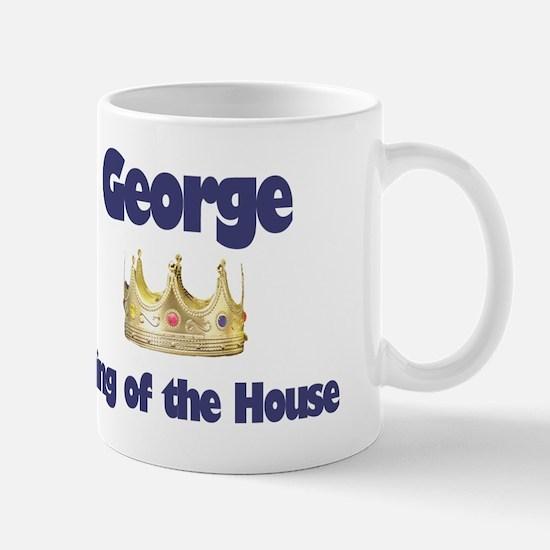 George - King of the House Mug