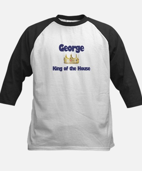 George - King of the House Kids Baseball Jersey