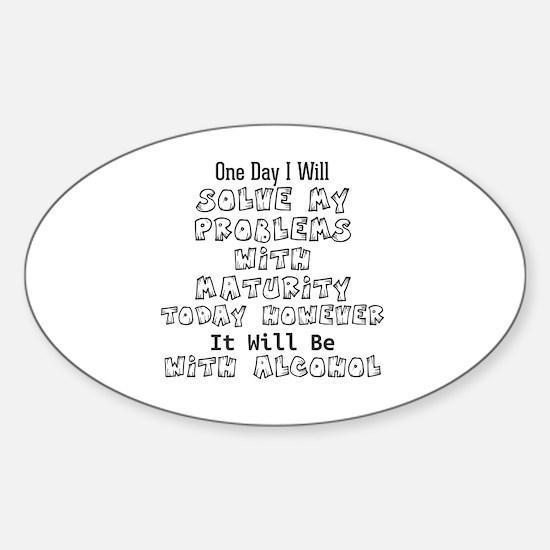 Unique Maturity Sticker (Oval)