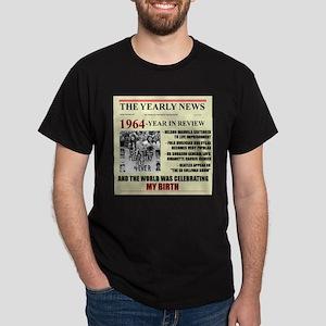 born in 1964 birthday gift Dark T-Shirt