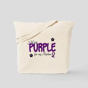 I Wear Purple For My Nephew 14 Tote Bag