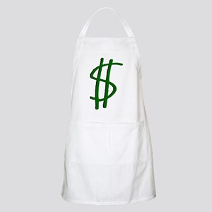 Money Dollar Sign BBQ Apron