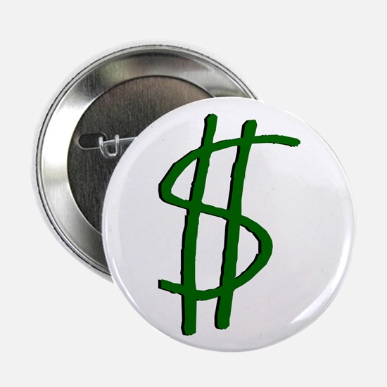 Money Dollar Sign Button