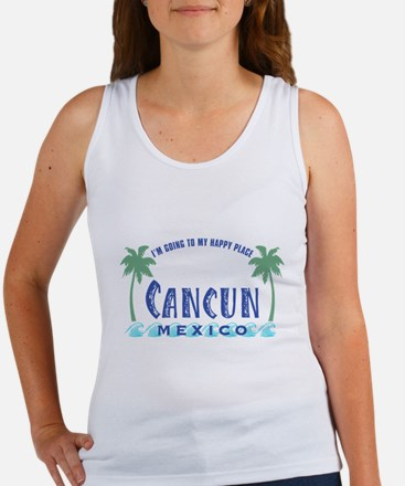 Cancun Happy Place - Women's Tank Top