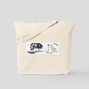 Pig Zodiac Mug Tote Bag